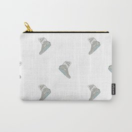 Air Mag grey - back to the future - pattern Carry-All Pouch
