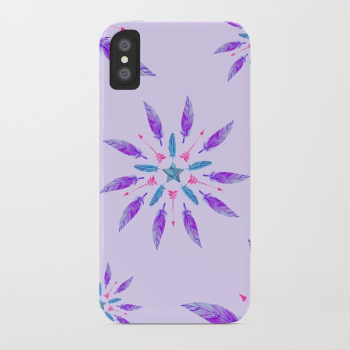 Feathers Dream iPhone Case