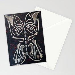 Butterfly Skeleton Stationery Cards