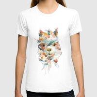 alpaca T-shirts featuring + Watercolor Alpaca + by BANBAN