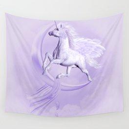 Flying Pegasus Wall Tapestry