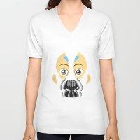 aang V-neck T-shirts featuring Baang by Cxameron