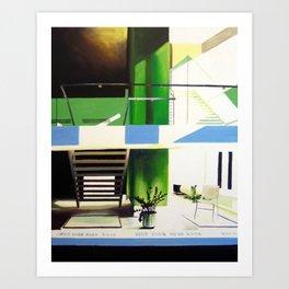 Haworth Building Art Print