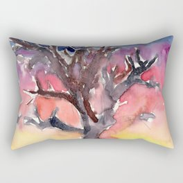 The Night Tree Rectangular Pillow