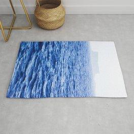 Isolated Island - Filfla Malta | Shades of Blue Rug