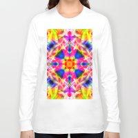 kaleidoscope Long Sleeve T-shirts featuring Kaleidoscope by Assiyam