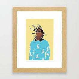 YOUNG THUG Framed Art Print