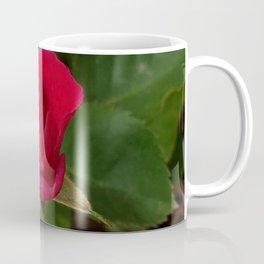 Tiny Rose Square Coffee Mug