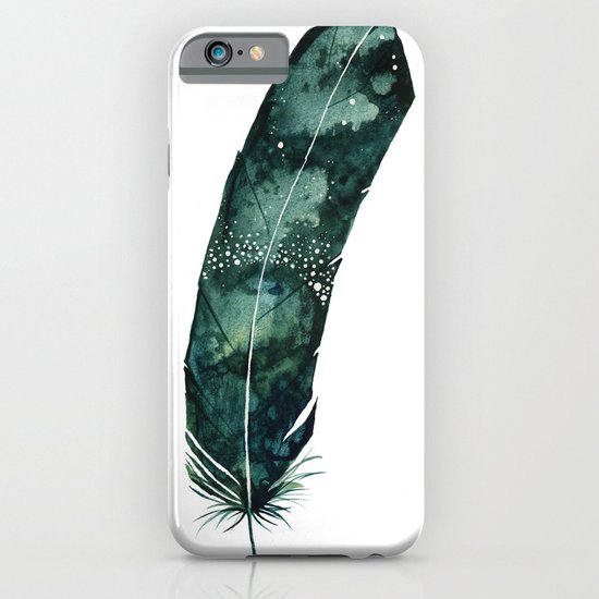 Galaxy Feather iPhone & iPod Case