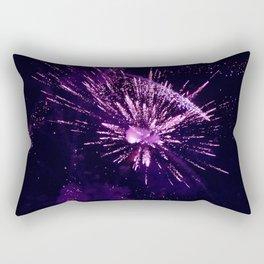 Fireworks purple Rectangular Pillow