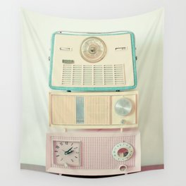 Radio Stations Wall Tapestry