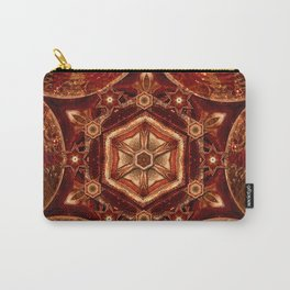Meditation in Copper Carry-All Pouch