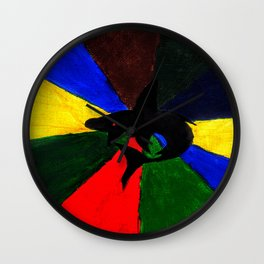 Colors of the Beast Wall Clock
