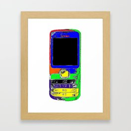 iPhone by Noia Framed Art Print