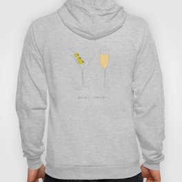 Martinis + Champagne Hoody