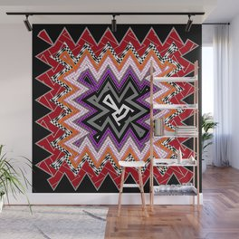 abstract zees 6 Wall Mural