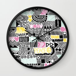 At Peace  Wall Clock