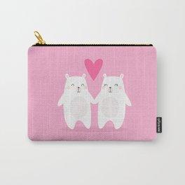 POLAR BEAR LOVE - VALENTINE'S DAY Carry-All Pouch