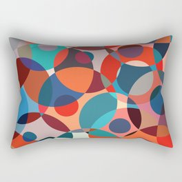 Crowded place Rectangular Pillow