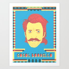 Gogol Bordello Art Print