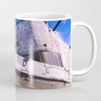 popeye Mugs featuring  Popeye's Boat by Bruce Stanfield