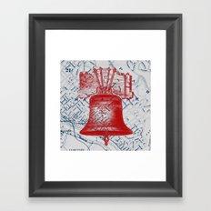 Manayunk Section Has Bells Framed Art Print