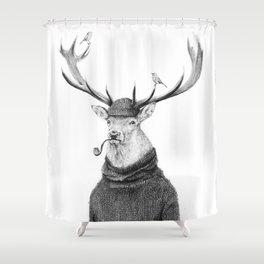Wild Thinking Shower Curtain