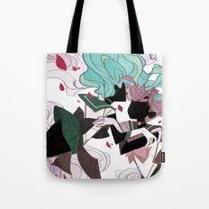 The Waves and The Wind Tote Bag