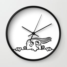 Snoop Wall Clock