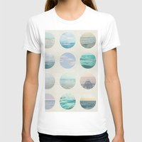 polka T-shirts featuring Ocean Polka dot  by Pure Nature Photos