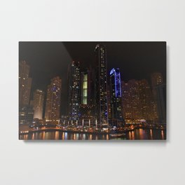 Nightlife Metal Print