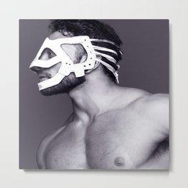 Masked Man Metal Print