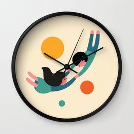 Won't Let Go Wall Clock
