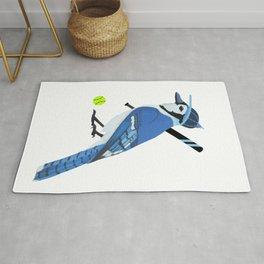 Softball Blue Jay Rug