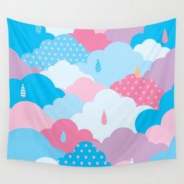 Cloud pattern Wall Tapestry