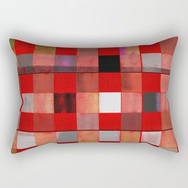 Downe Burns - Tripping On Life V Rectangular Pillow