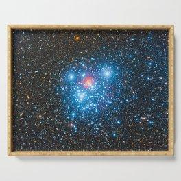 The Jewel Box Kappa Crucis Star Cluster NGC 4755 Serving Tray