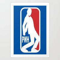 pee wee Art Prints featuring Pee Wee League by sinistergrynn