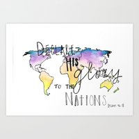 To the Nations Art Print