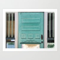 Colored Door Series 1 Art Print