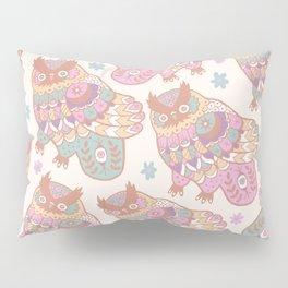 Cosmic Owls Pillow Sham