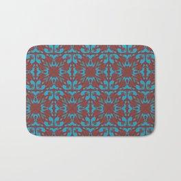 Abstract flower pattern 6b ver. 2 Bath Mat