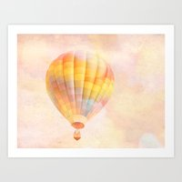 nursery Art Prints featuring nursery 1 by Shannyn DeArment-Howard