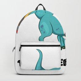 Teachersaurus Dinosaur T-Rex Teacher Gifts Backpack