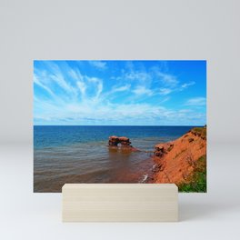 Sandstone holy rock Mini Art Print