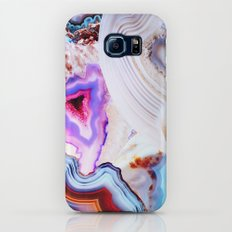 Agate, a vivid Metamorphic rock on Fire Galaxy S6 Slim Case