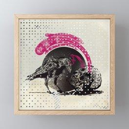 Raven 1 (explicit) Framed Mini Art Print