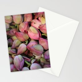 Lotos Flower Stationery Cards