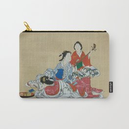 Three Beauties Carry-All Pouch