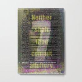7 Metal Print